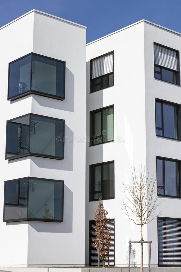 Arquitetura de vidro moderna imagem de stock royalty free