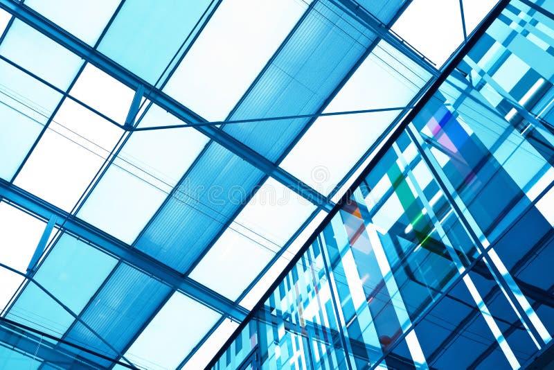 Arquitetura de vidro moderna foto de stock royalty free