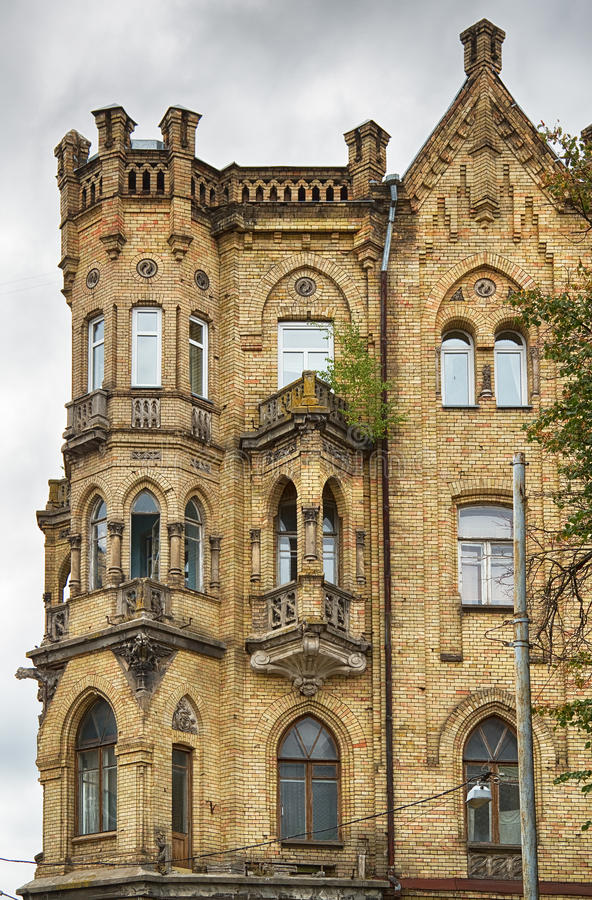 Arquitetura de Vilnius. fotos de stock royalty free