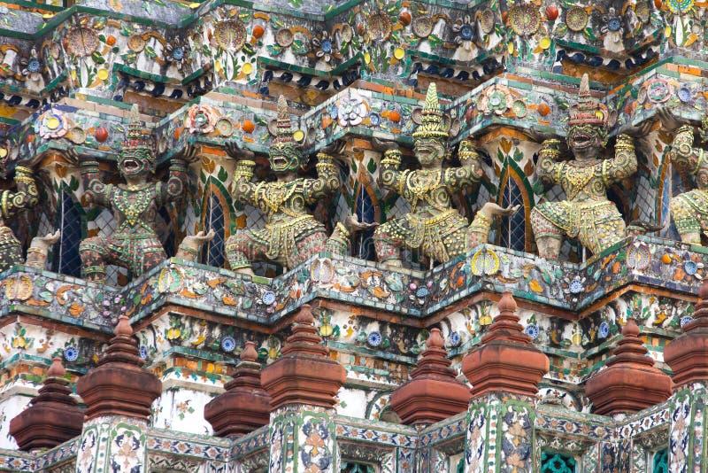 Arquitetura de Wat Arun foto de stock royalty free