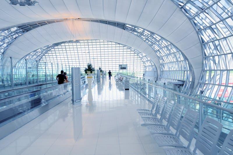 Arquitetura do aeroporto imagem de stock