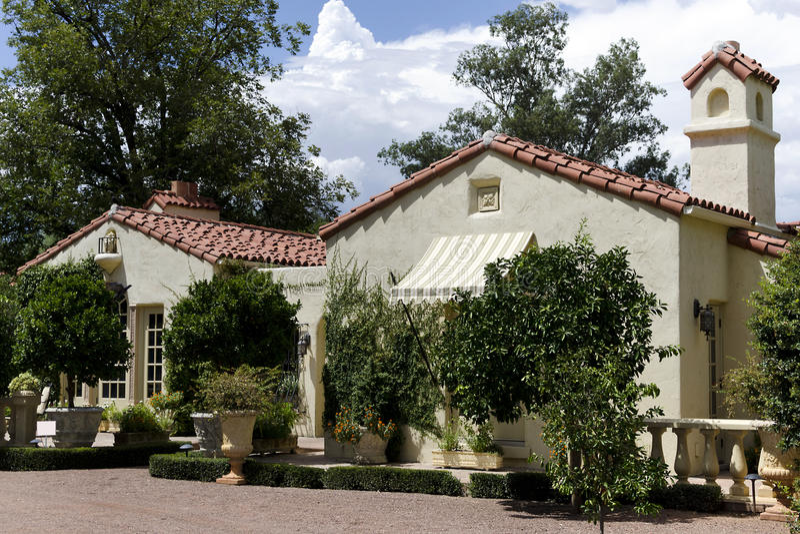 Arquitetura do Arizona Adobe foto de stock royalty free