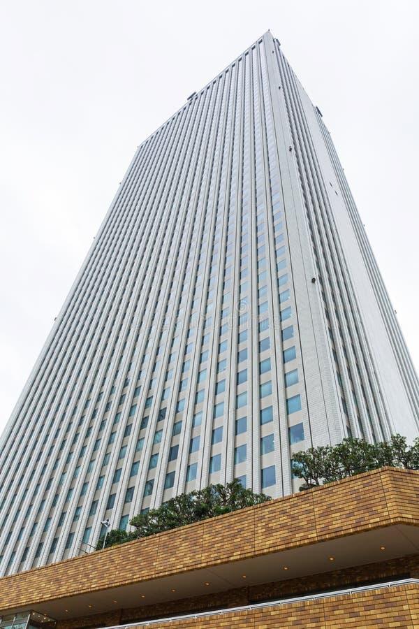 Arquitetura do arranha-céus da cidade da luz do sol fotos de stock