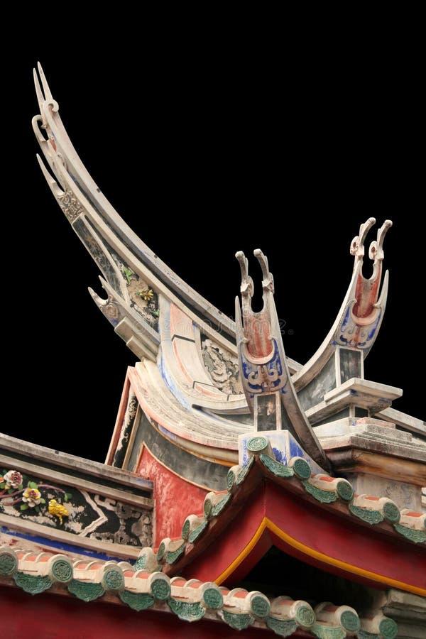 Arquitetura do chinês tradicional imagem de stock
