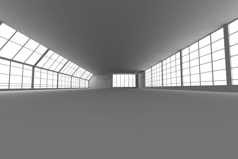 Download Arquitetura do corredor ilustração stock. Ilustração de inside - 12805021