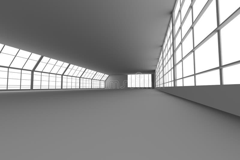 Download Arquitetura do corredor ilustração stock. Ilustração de hallway - 12805058