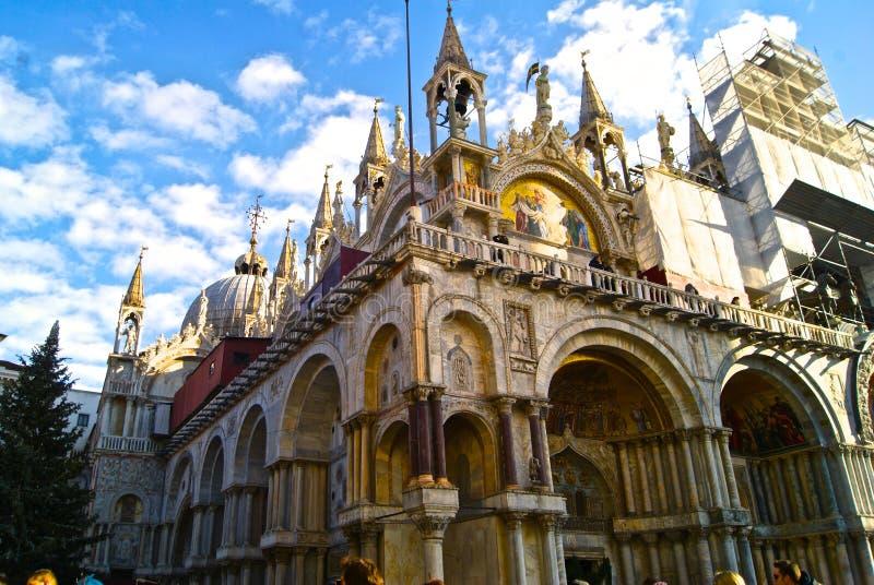 A arquitetura do curso dos feriados de Veneza Itália imagem de stock royalty free
