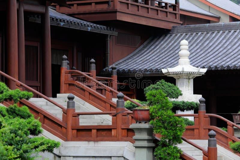 Arquitetura do estilo chinês imagem de stock