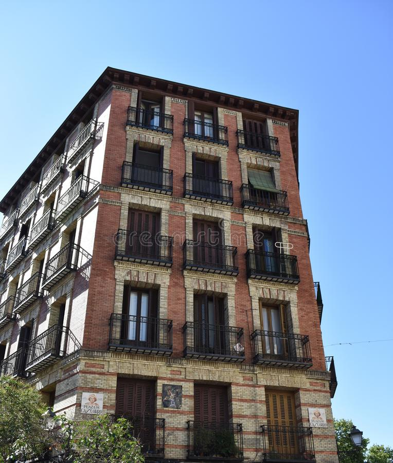 Arquitetura do Madri imagens de stock