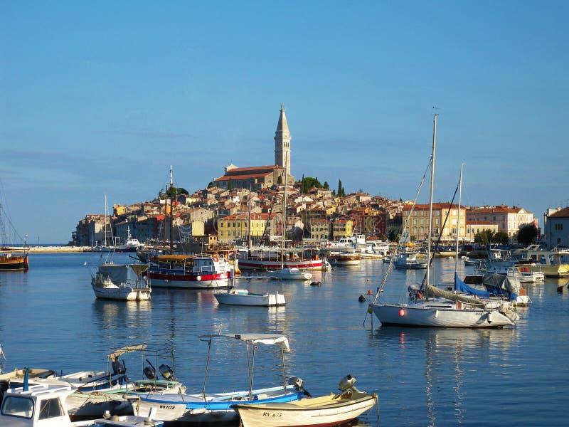Arquitetura do mar em Croatia foto de stock