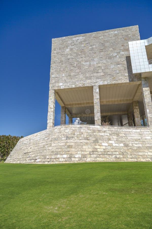 Arquitetura do museu de Getty imagens de stock royalty free