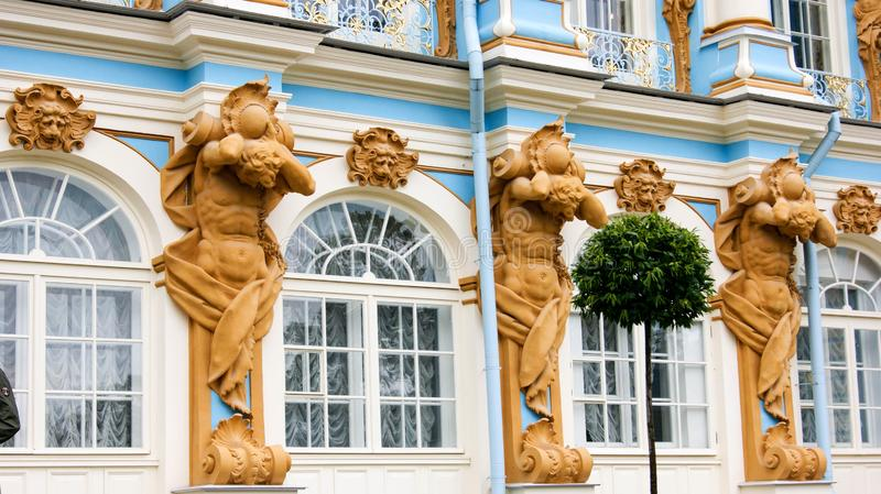 Arquitetura do palácio real foto de stock