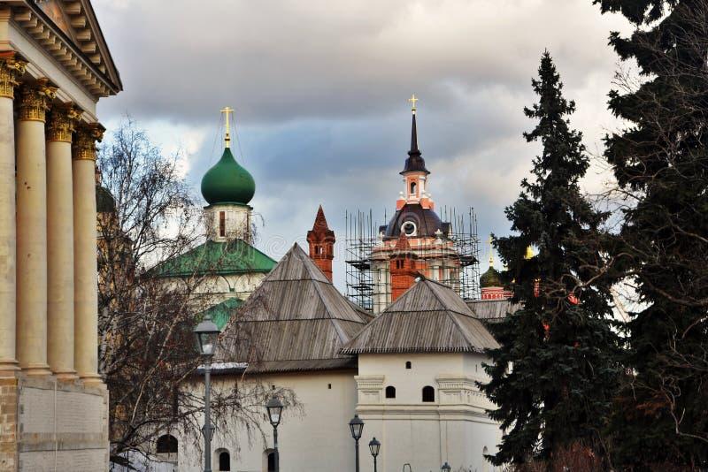 Arquitetura do parque de Zaryadye em Moscou Marco popular fotos de stock