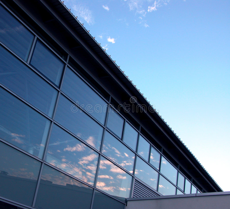 Arquitetura e céu foto de stock royalty free