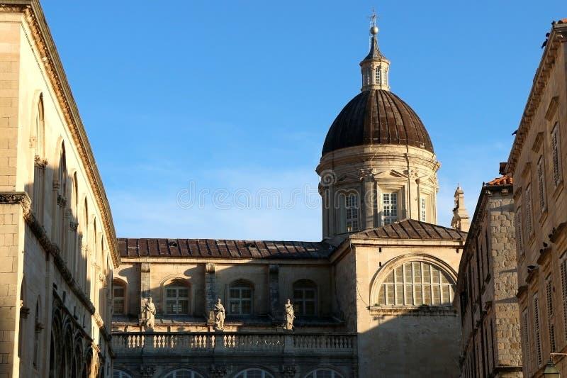 Arquitetura em Dubrovnik imagem de stock