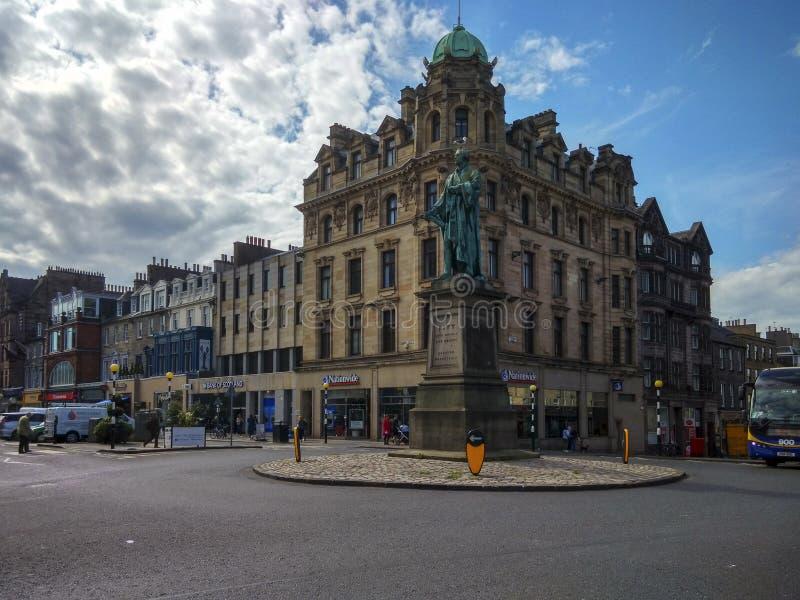A arquitetura em Edimburgo, Escócia fotografia de stock royalty free