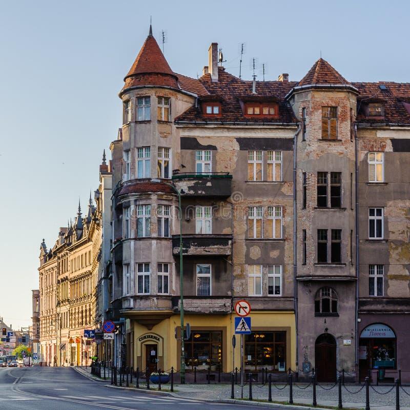 Arquitetura em Legnica poland imagens de stock royalty free