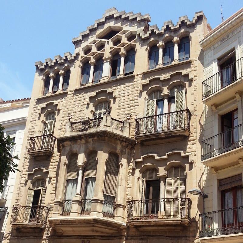 Arquitetura em Reus fotografia de stock