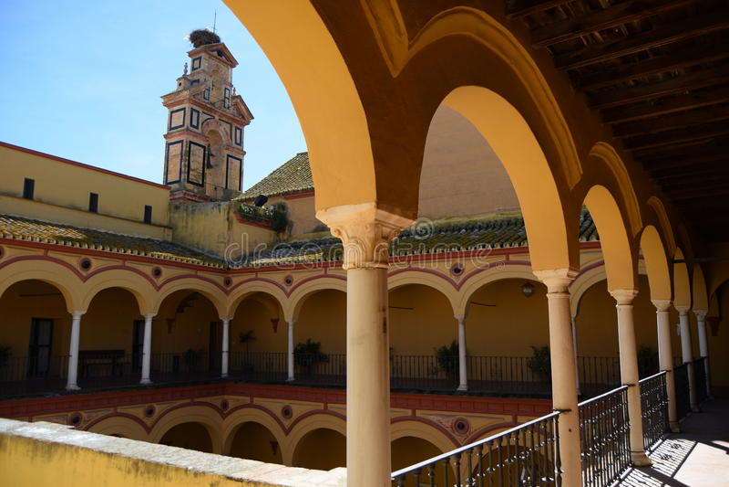 Arquitetura espanhola fotos de stock