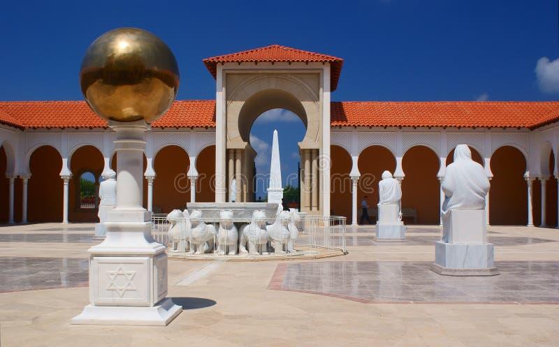 Arquitetura espanhola do estilo imagem de stock