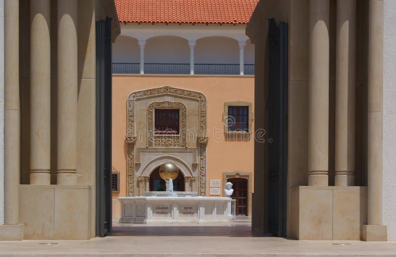 Arquitetura espanhola do estilo foto de stock royalty free