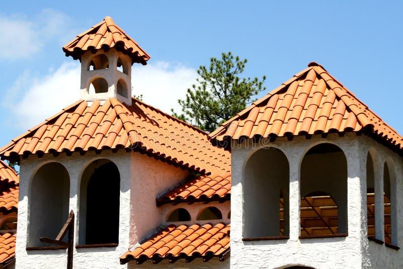 Arquitetura espanhola/mediterrânea imagem de stock