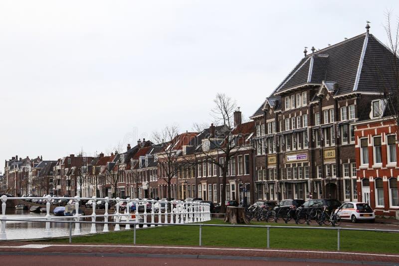 Arquitetura espetacular de Haarlem fotos de stock
