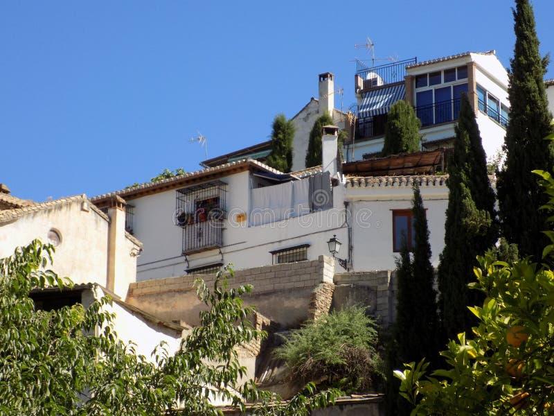 Arquitetura-Granada genérico imagens de stock