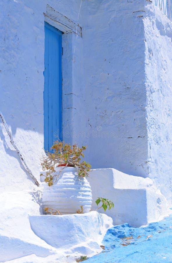 Arquitetura grega da ilha fotos de stock royalty free