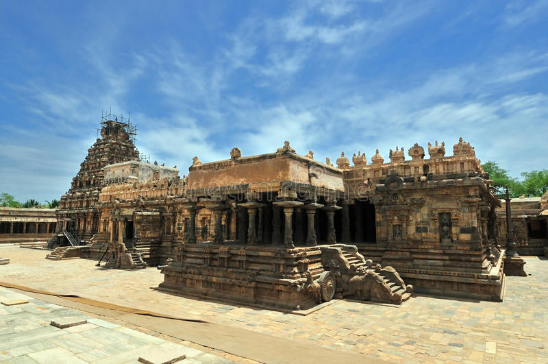 Arquitetura Hindu fotografia de stock