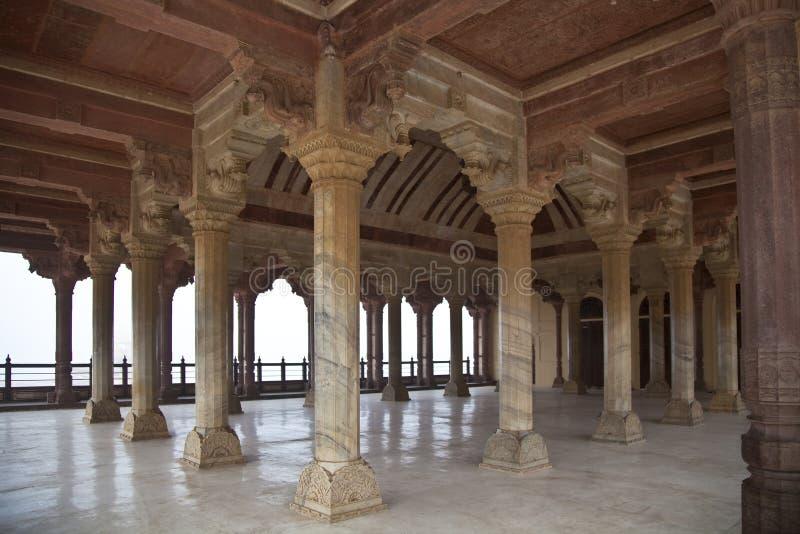 A arquitetura hindu imagem de stock