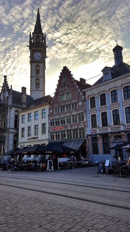 Arquitetura histórica bonita no senhor imagens de stock royalty free