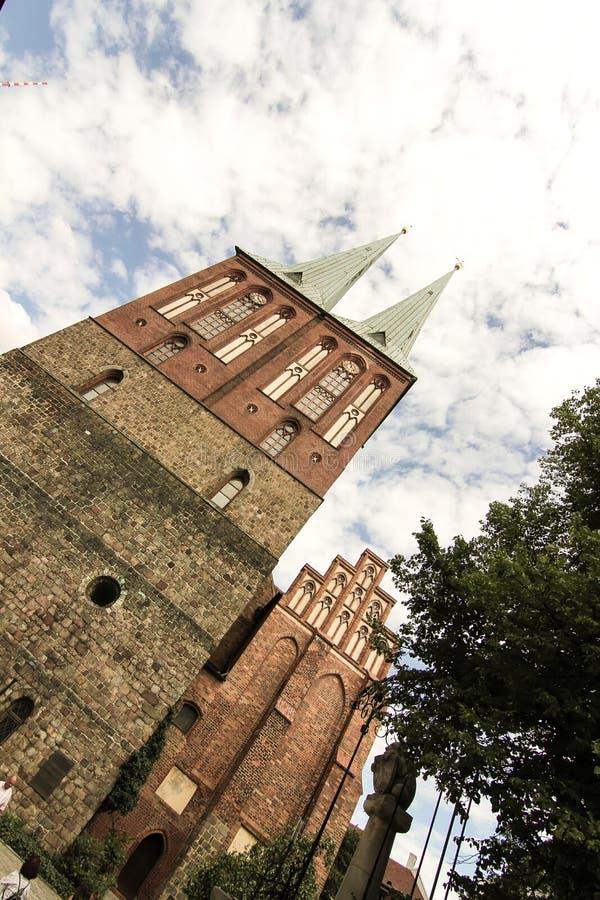 Arquitetura histórica em Berlim fotografia de stock