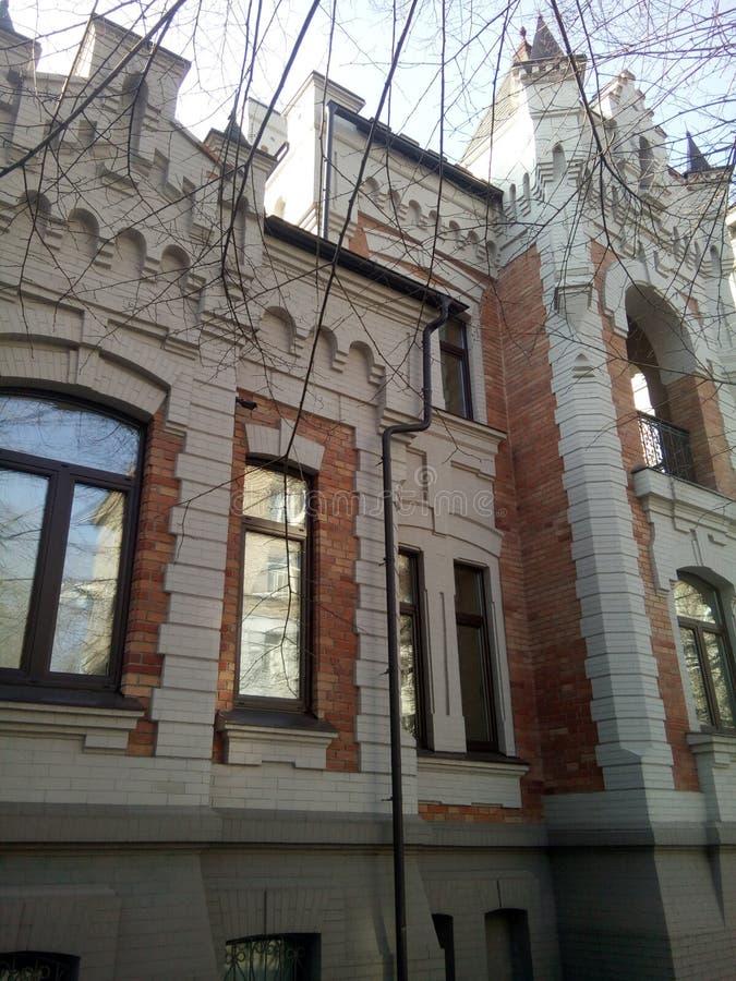 Arquitetura histórica em Dnipro fotos de stock