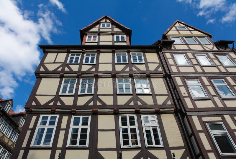 Arquitetura histórica em Hannover fotografia de stock