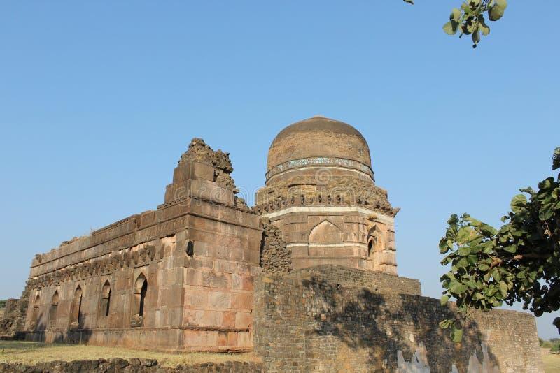 Arquitetura histórica, ka behan do choti do ki de dai mahal foto de stock