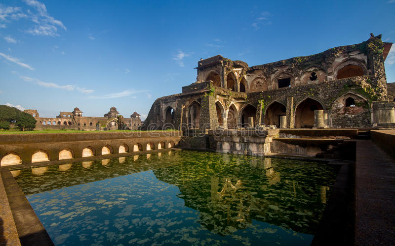 Arquitetura indiana histórica antiga fotografia de stock royalty free