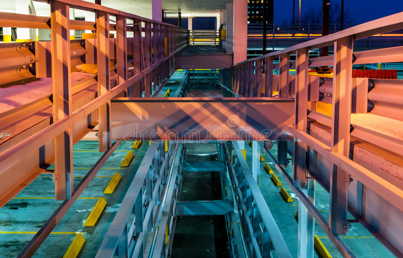 Arquitetura industrial fotografia de stock royalty free