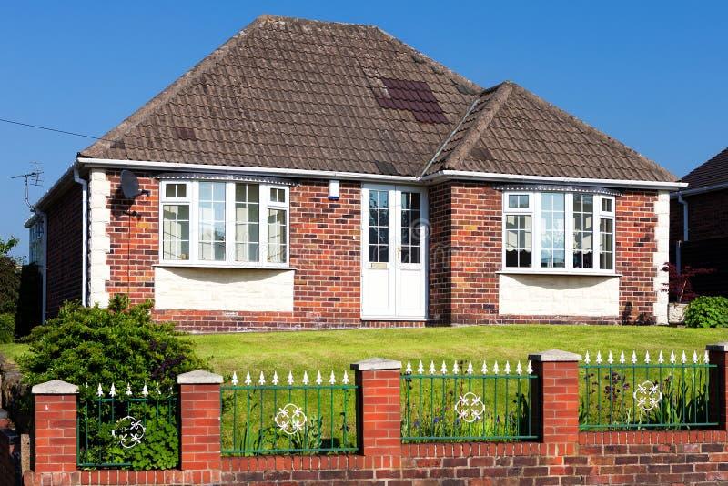 Arquitetura inglesa da casa foto de stock