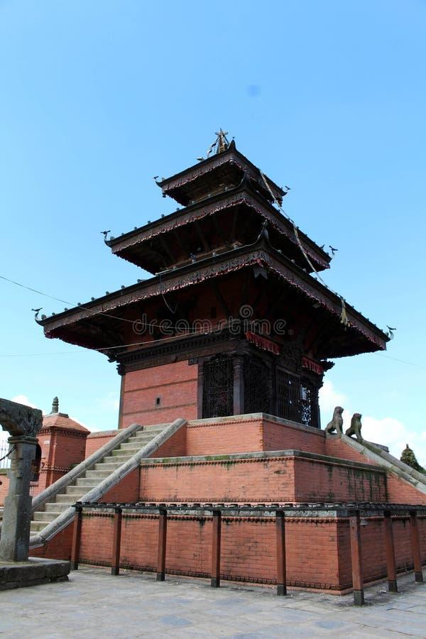A arquitetura interessante dos templos em torno da cidade velha em D imagens de stock royalty free
