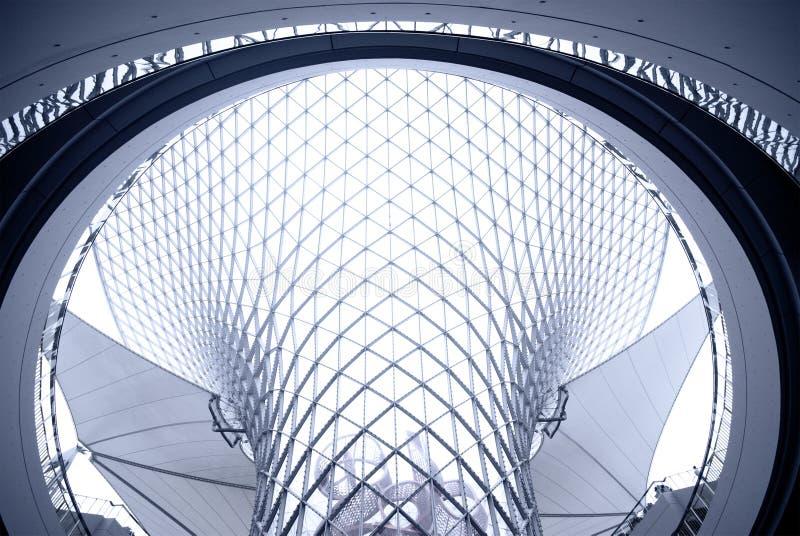 Arquitetura interior moderna foto de stock