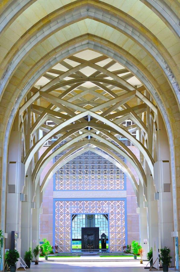 Arquitetura islâmica da arte e do detalhe imagens de stock