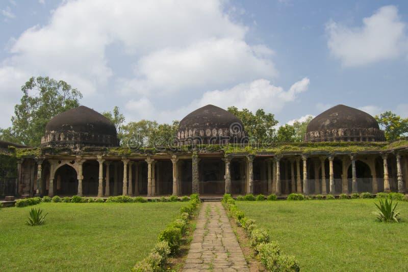 Arquitetura islâmica histórica de Indo da Índia foto de stock