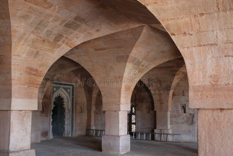 Arquitetura islâmica, masjid do jami, mandu, Madhya Pradesh, india imagens de stock