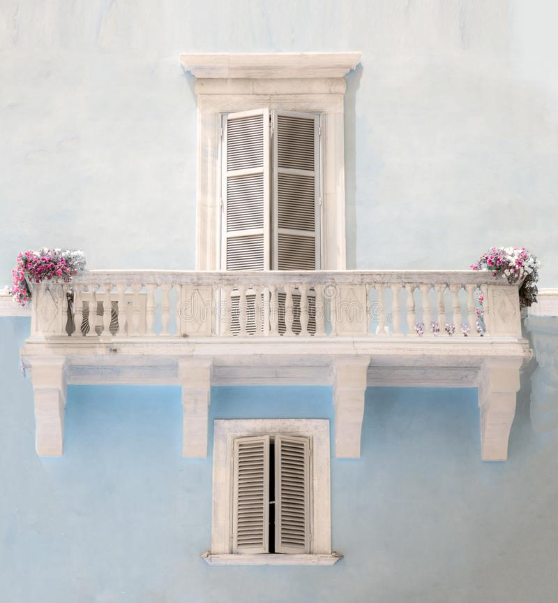 Arquitetura italiana em Roma imagem de stock royalty free