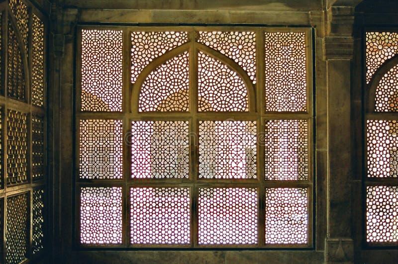 Arquitetura Jain de Fatehpur Sikri imagem de stock