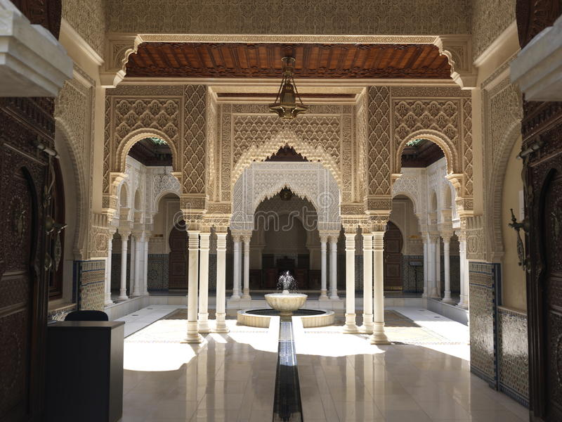 Arquitetura marroquina fotografia de stock royalty free