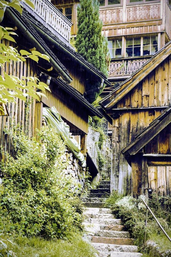 Arquitetura medieval austr?aca fotos de stock royalty free