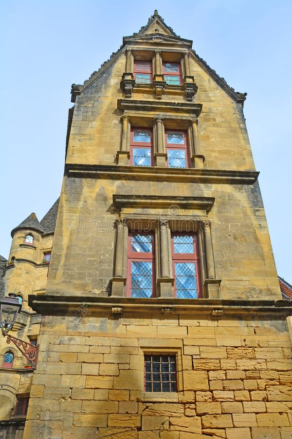 Arquitetura medieval imagem de stock