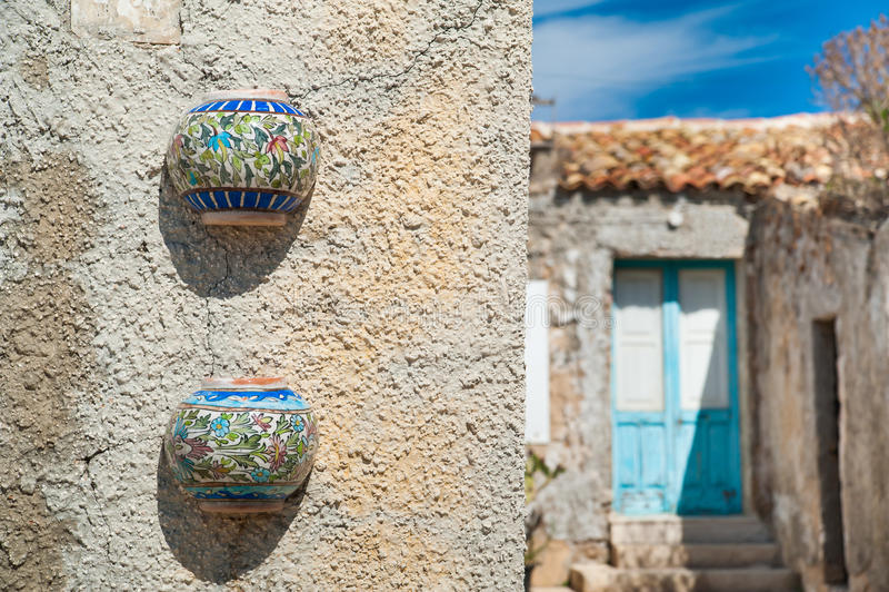 Arquitetura mediterrânea imagem de stock royalty free